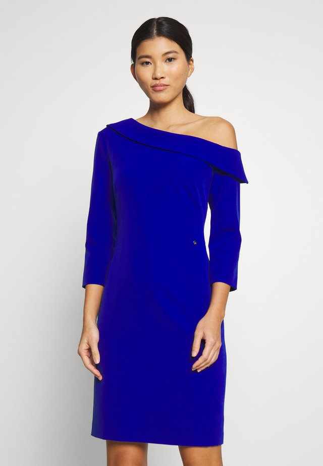 BODYCON DRESS - Sukienka koktajlowa - dark blue