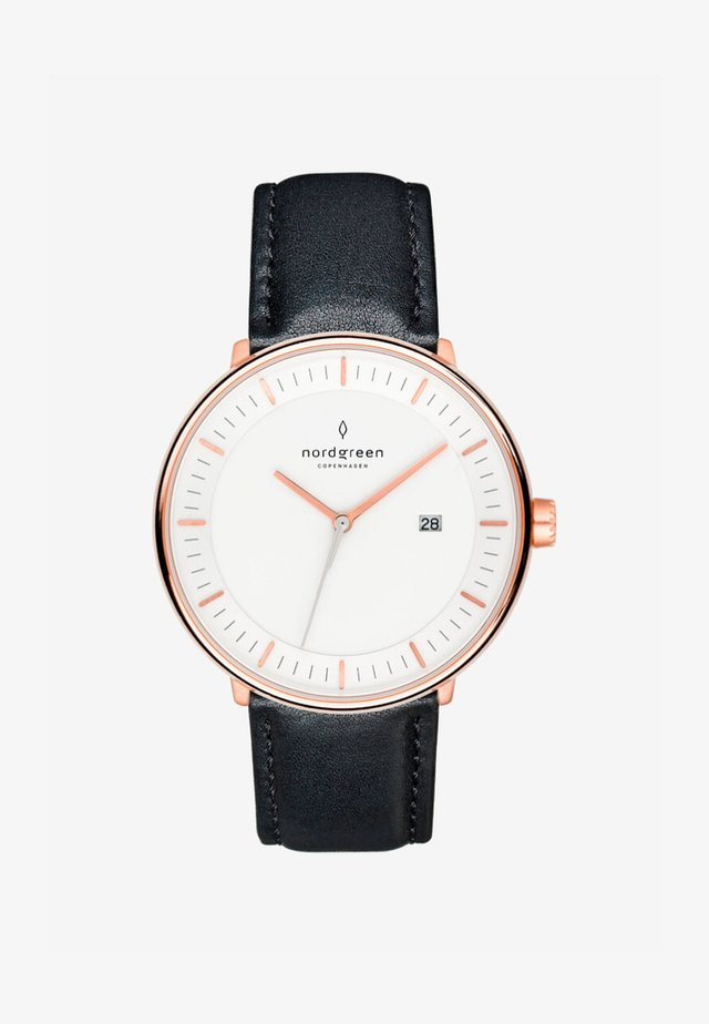 Watch - schwarz/rose gold