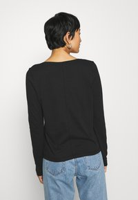 Tommy Hilfiger - CLASSIC - Long sleeved top - black - 2