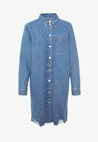 JDY - JDYSANSA DRESS RAW  - Jeanskjole / cowboykjoler - medium blue denim - 5