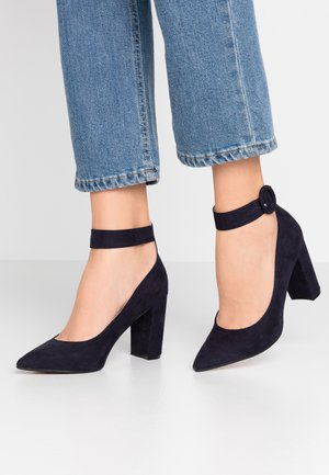 DIVINE COURT - High heels - navy