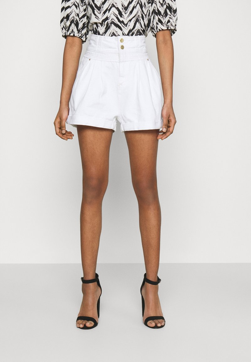 River Island - Denim shorts - white