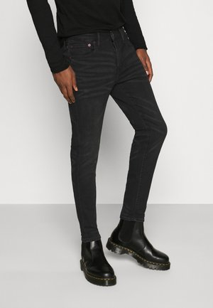 CROPPED - Slim fit jeans - black