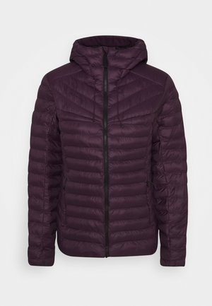 ALBULA IN HOODED JACKET WOMEN - Zimní bunda - blackberry