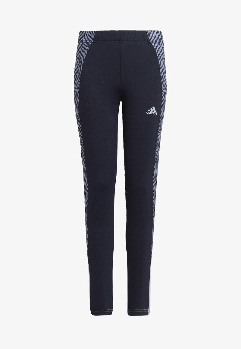 adidas Performance - Leggings - blue