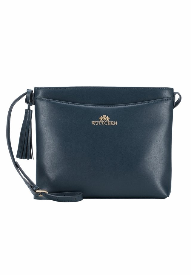 ELEGANCE - Across body bag - marineblau