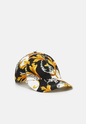 Cap - bianco/nero/oro