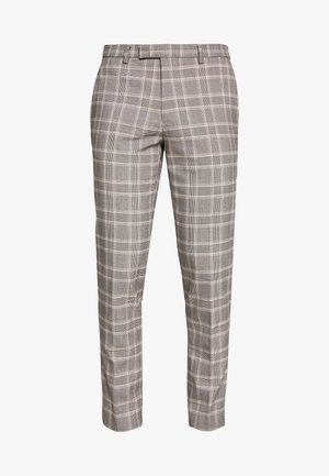 COOK POW CHECK - Kostymbyxor - grey