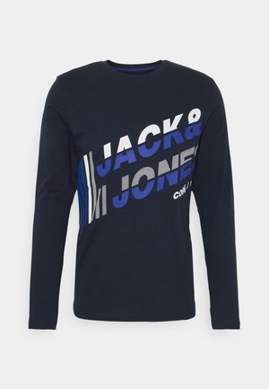 JCOALPHA TEE - Long sleeved top - navy blazer