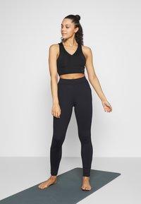 Curare Yogawear - LONG PANTS POCKETS - Legging - midnight blue - 1