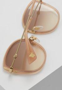 Gucci - Solglasögon - havana/gold/pink - 3