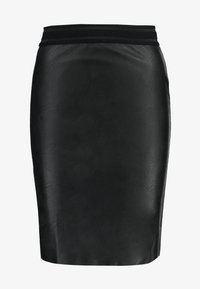 Vero Moda - VMSTORM PENCIL KNEE SKIRT - Kynähame - black - 3