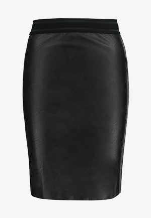 VMSTORM PENCIL KNEE SKIRT - Pencil skirt - black