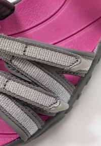 Teva - Walking sandals - silver/magenta - 2
