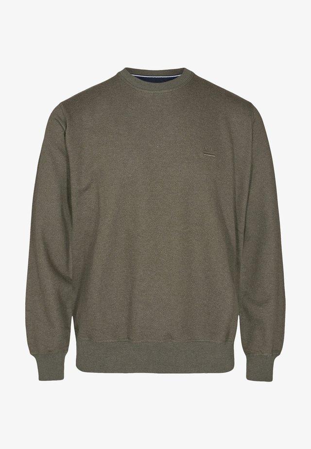 Sweatshirts - green ink melange