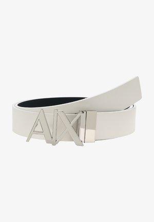 BELT - Belt - white/navy