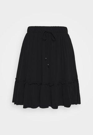 LILLI OANA SKIRT - Áčková sukně - black