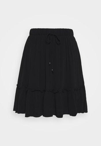 LILLI OANA SKIRT - A-line skirt - black