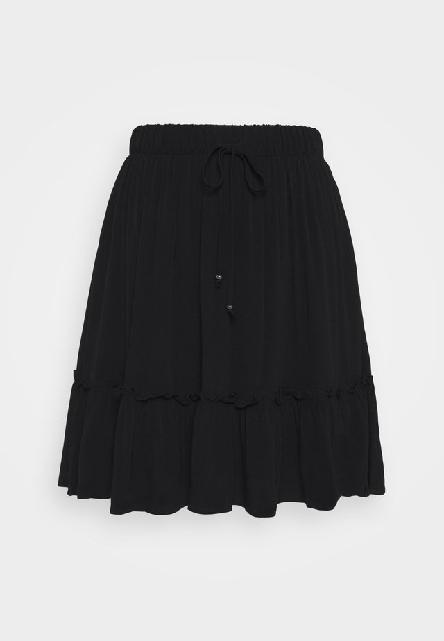 LILLI OANA SKIRT - A-Linien-Rock - black