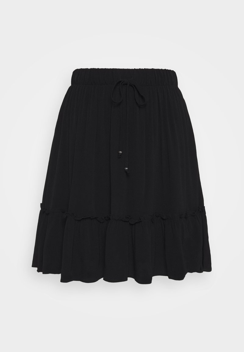 Bruuns Bazaar - LILLI OANA SKIRT - A-line skirt - black
