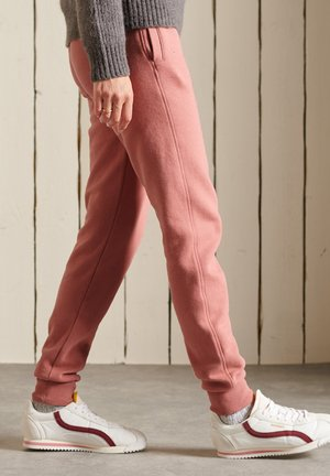 SCRIPT STYLE WORKWEAR  - Tracksuit bottoms - native rose