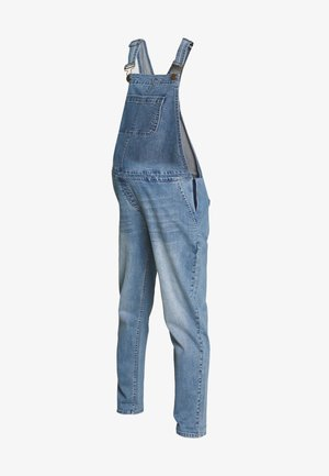 DUNGAREE - Lacláče - mid blue wash