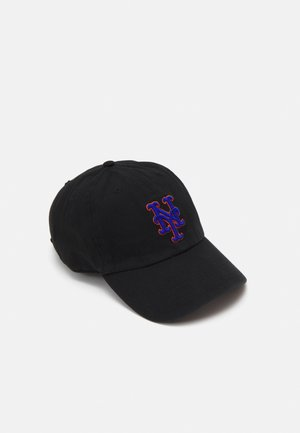 NEW YORK METS CLEAN UP UNISEX - Kšiltovka - black