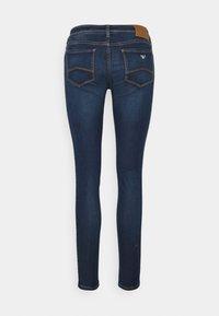 Emporio Armani - Jeans Skinny Fit - denim blu - 1