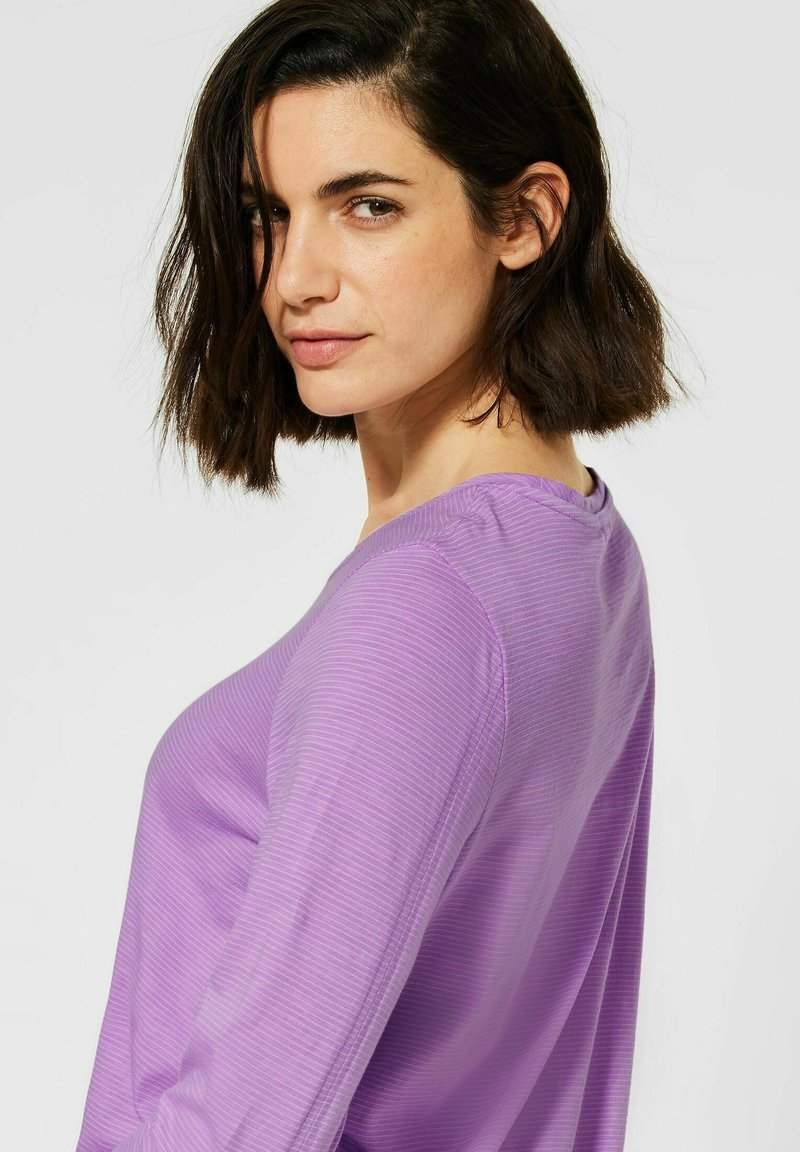 Cecil - Long sleeved top - lila