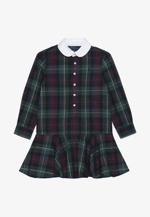 DRESS - Košilové šaty - navy/green/multi