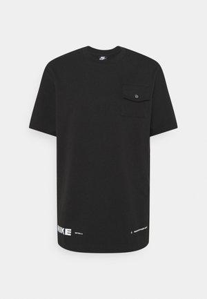 CITY MADE  - T-shirt basique - black