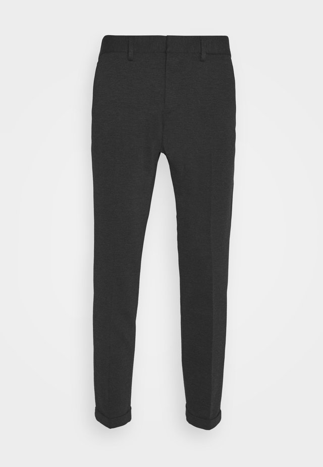 CROPPED - Chinos - anthracite twill