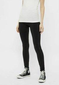 Pieces - Leggings - Trousers - black - 0