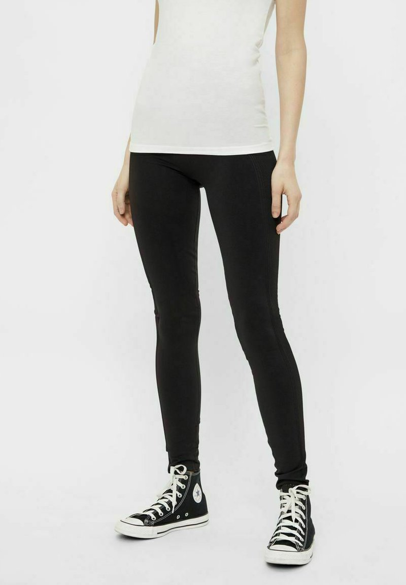 Pieces - Leggings - Trousers - black