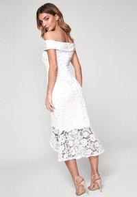 Lipsy - FLIPPY  - Cocktail dress / Party dress - white - 1