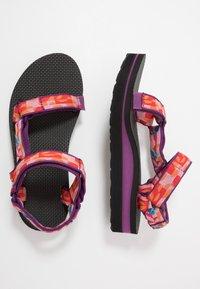 Teva - MIDFORM UNIVERSAL WOMENS - Walking sandals - hummingbird gloxinia - 1