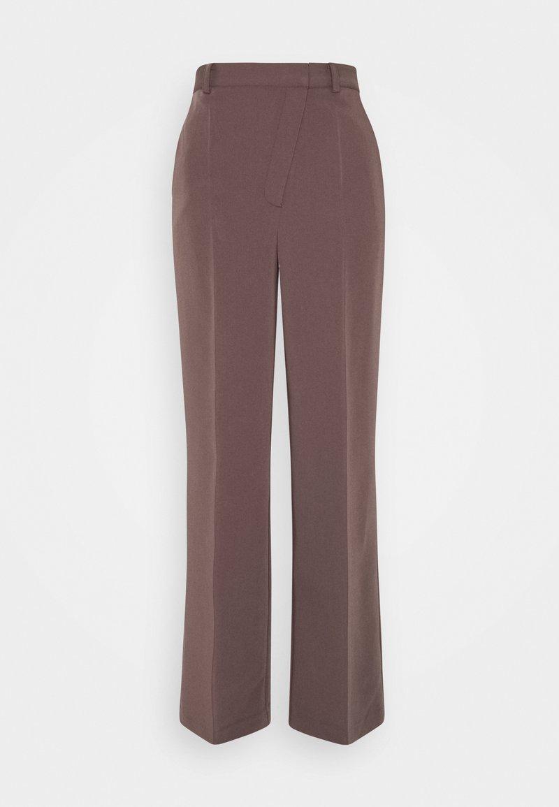 NA-KD - MATIAMU BY SOFIA SUIT PANTS - Trousers - purple