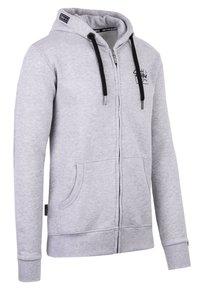 Spitzbub - VALENTIN - Zip-up sweatshirt - grau - 1
