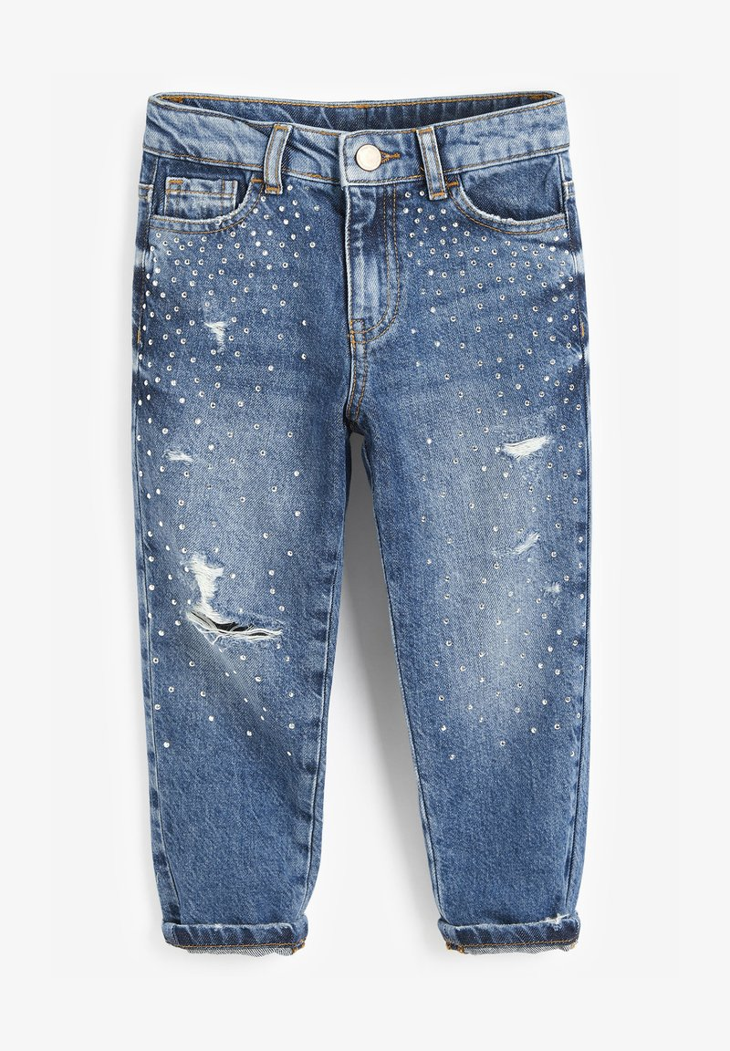 Next - MOM  - Relaxed fit jeans - blue