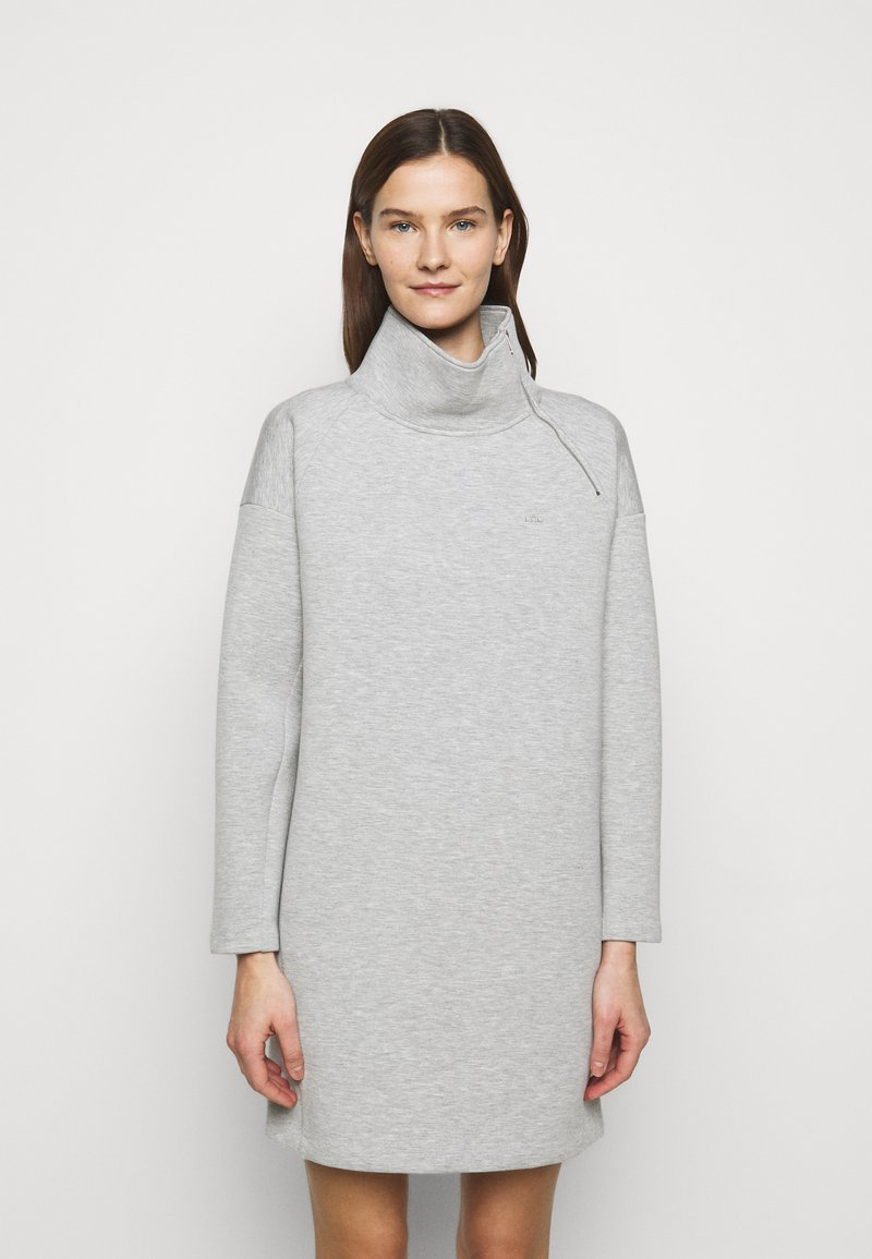 Lauren Ralph Lauren - MODERN KNIT - Denní šaty - pearl grey heather