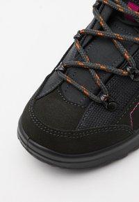 Lowa - KODY III GTX MID JUNIOR UNISEX - Hiking shoes - anthracite - 5
