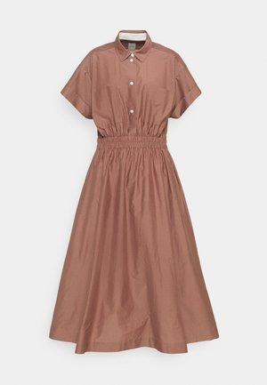 WOMENS DRESS - Košilové šaty - brown