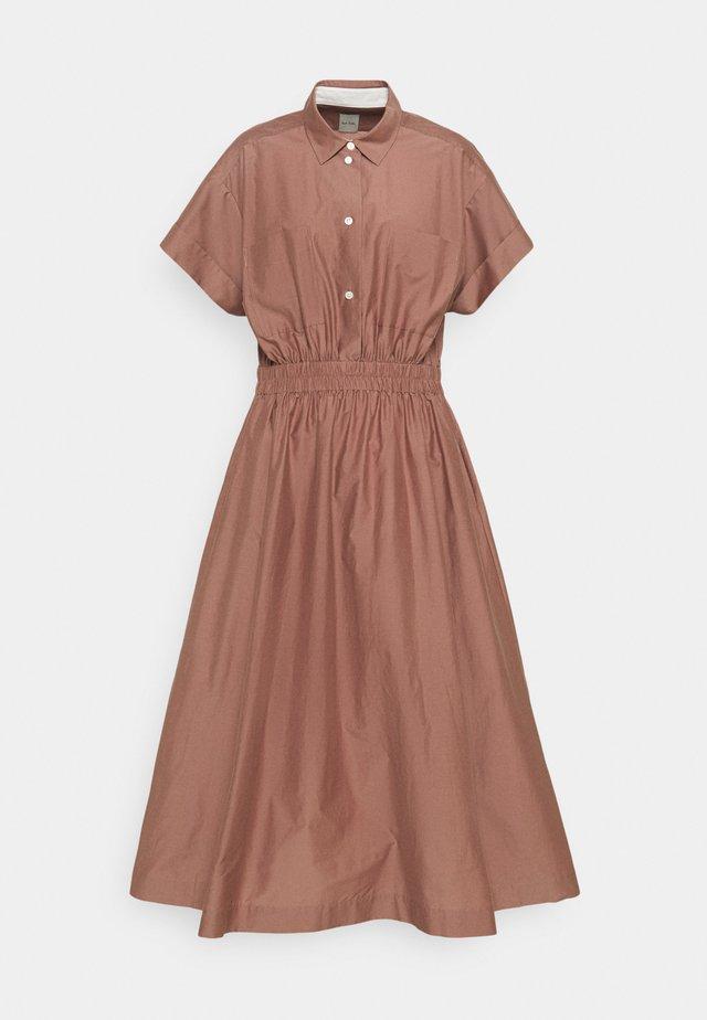 WOMENS DRESS - Blousejurk - brown
