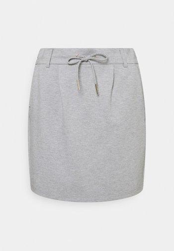 ONLPOPTRASH EASY SKIRT - Miniskjørt - light grey melange