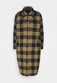ALTHEA - Classic coat - sepia tint
