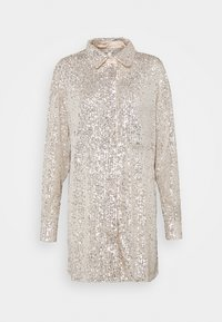 River Island - Chemisier - silver - 4