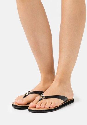 GALALELIAN - T-bar sandals - black