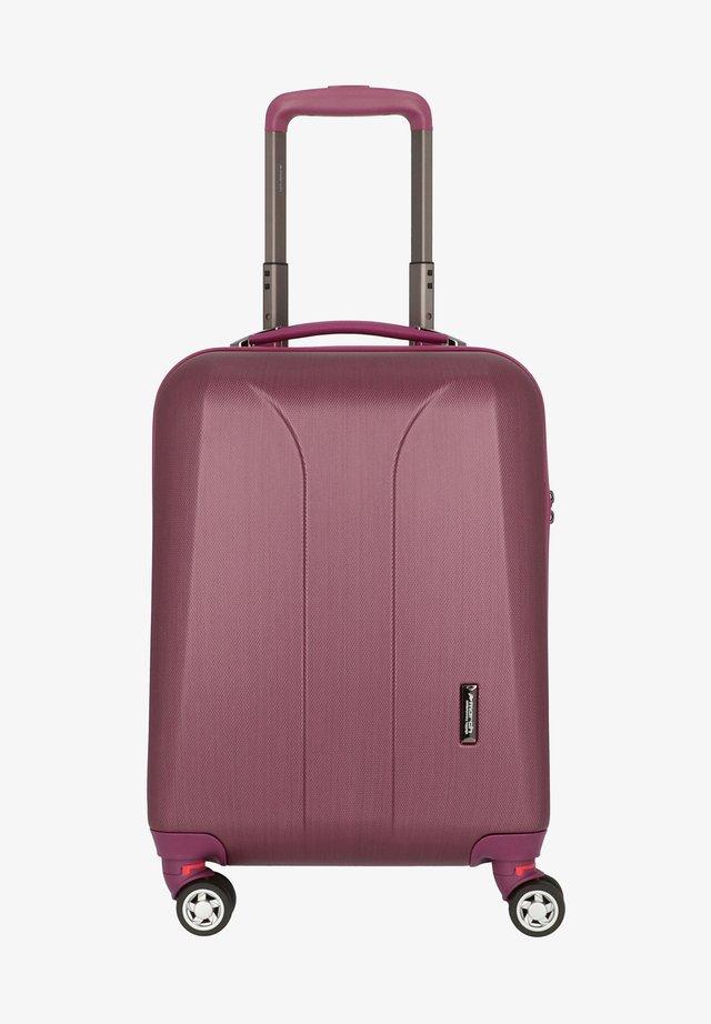 Valise à roulettes - burgundi brushed
