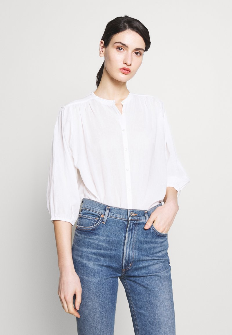 CLOSED - CHERRY - Button-down blouse - ivory