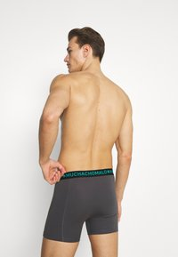 MUCHACHOMALO - TROPIC 5 PACK - Boxerky - black/green - 1